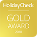 HolidayCheck Gold Award 2018